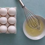 Tẩy lông mặt bằng lòng trắng trứng gà