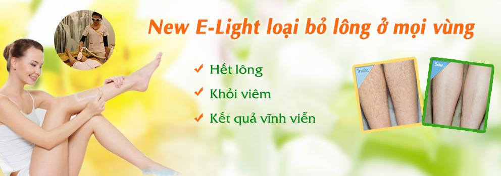 Công nghệ New E-Light mang lại kết quả hoàn toàn như mong đợi
