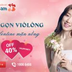 OFF 40% triệt lông New E-light: Diệt gọn violong – Valentine mặn nồng