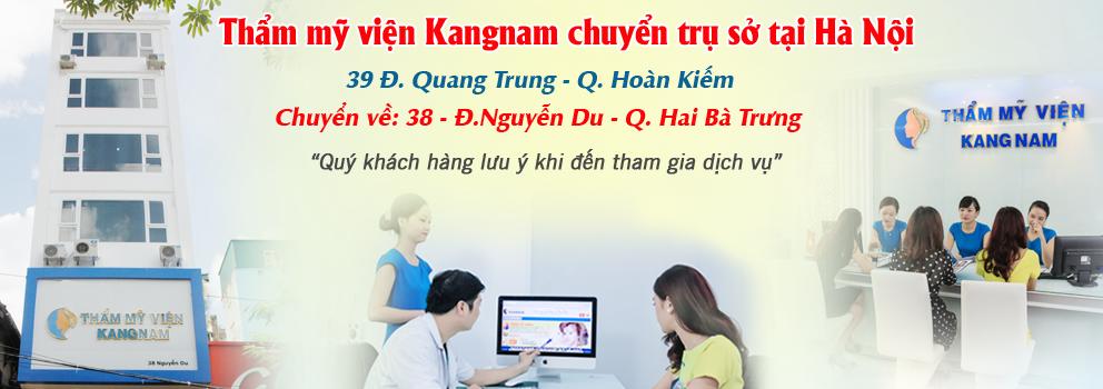 Thông báo thẩm mỹ viện Kangnam chuyển về địa chỉ mới