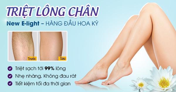 Phương pháp triệt lông chân vĩnh viễn hot nhất 2015788