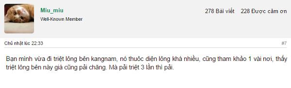 Truy tìm địa chỉ triệt lông64 vĩnh viễn giá rẻ tại Hà Nội và TPHCM
