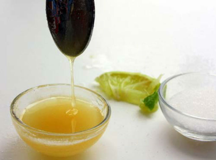 Cách chữa viêm nang lông hiệu quả từ chanh và mật ong3