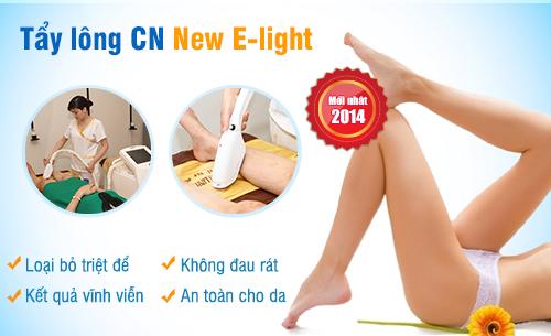 3 nguyên tắc tuyệt vời của CN triệt lông vĩnh viễn New E-light