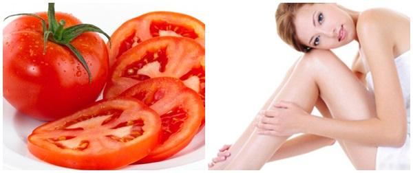 Cách tẩy lông chân bằng cà chua tại nhà, bạn đã thử?4