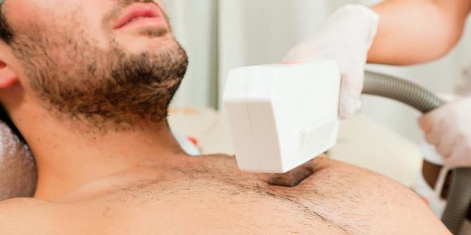 Tẩy lông ngực vĩnh viễn an toàn và hiệu quả bằng công nghệ New E-light